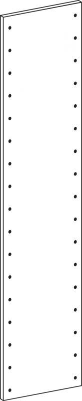 Bok plný - výška 178.5 cm