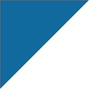 Doskočiště trojúh. 90x90x3 (modré)