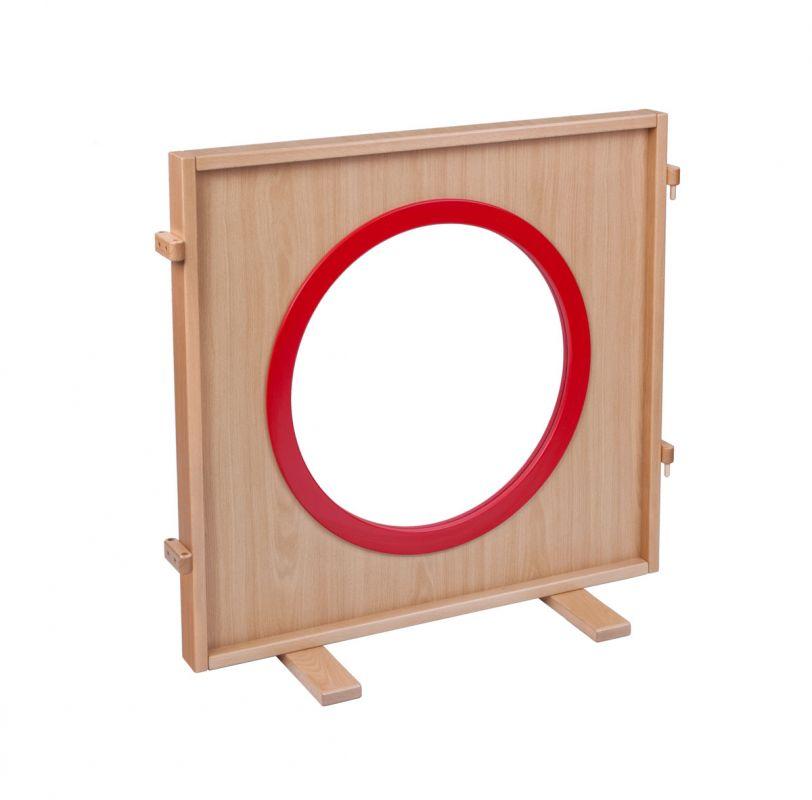Paraván okno - výplň plexisklo