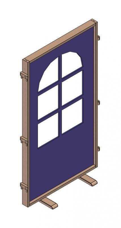 Paraván okno