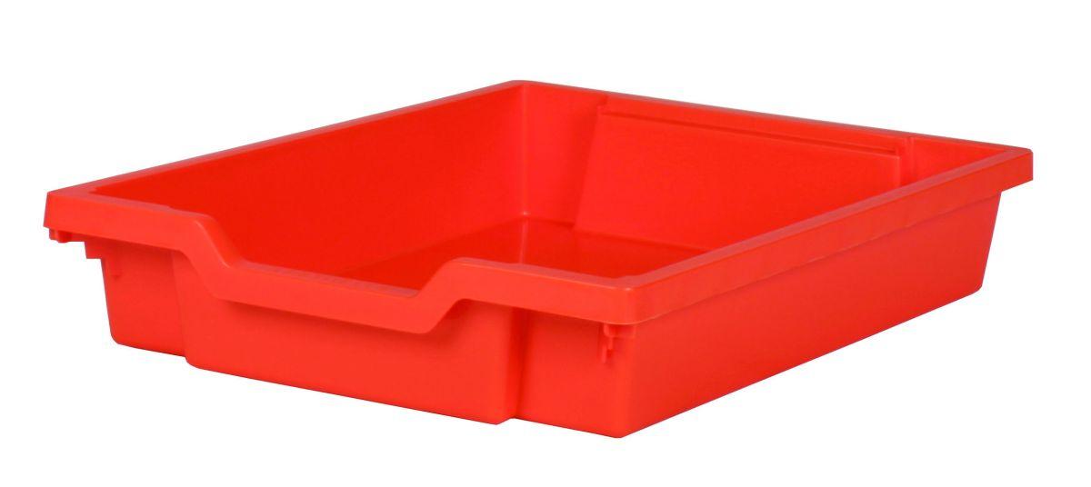 Plastová zásuvka SINGLE - oranžová Gratnells