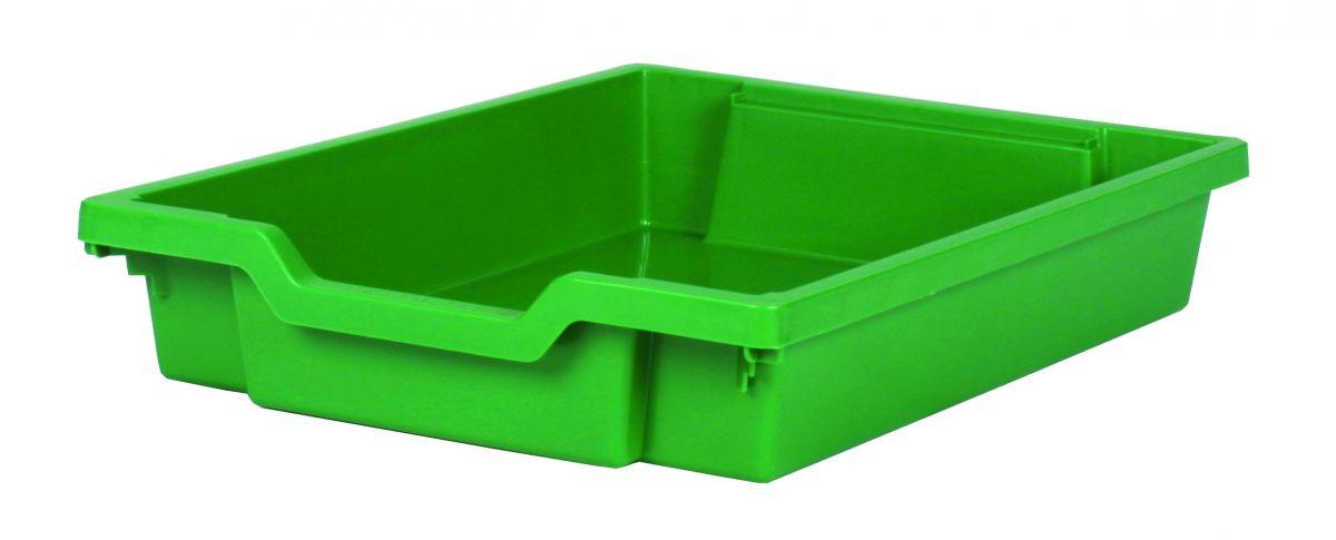 Plastová zásuvka SINGLE - zelená Gratnells