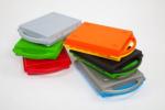 SmartCase® - uzavíratelná plastová zásuvka, modré dno i víko