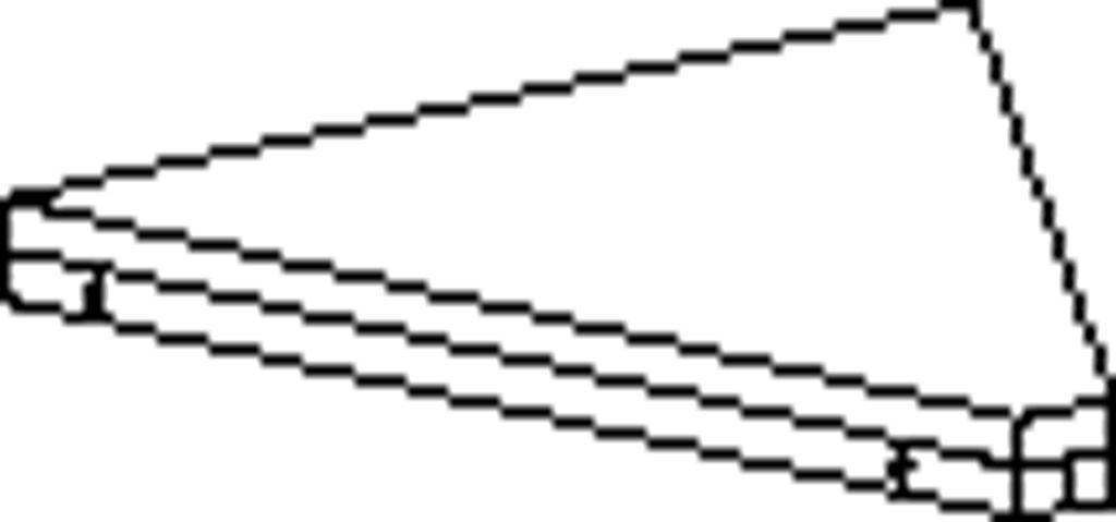 Spojovací police úhel 45°