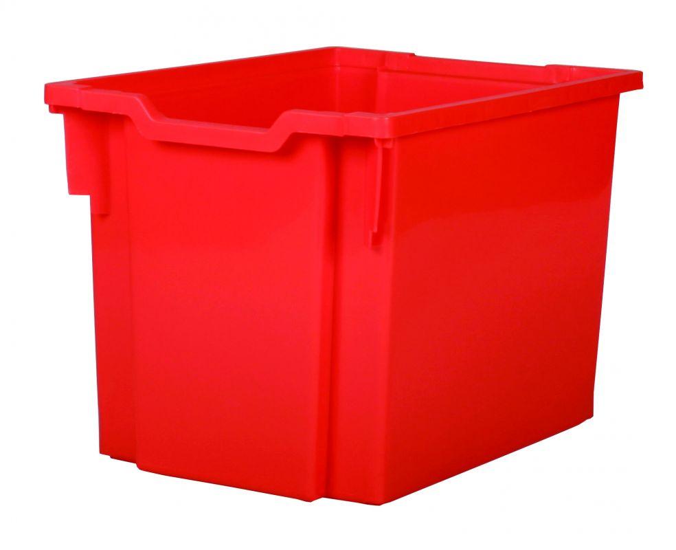 Plastová zásuvka JUMBO - červená Gratnells