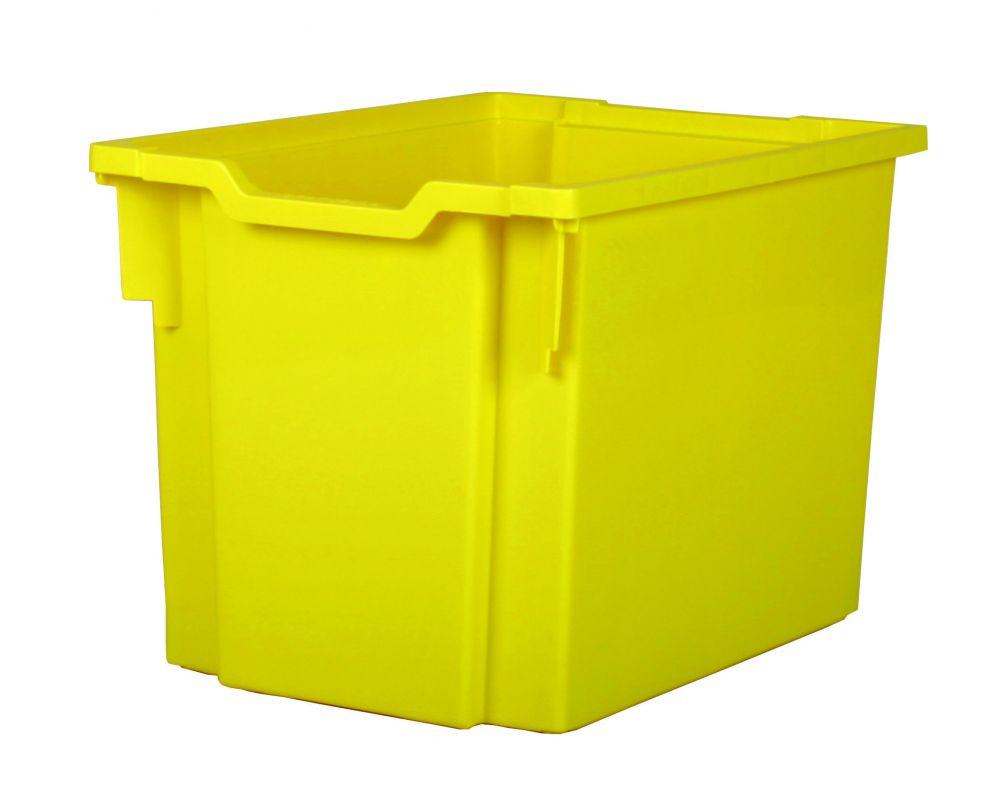 Plastová zásuvka JUMBO - žlutá Gratnells
