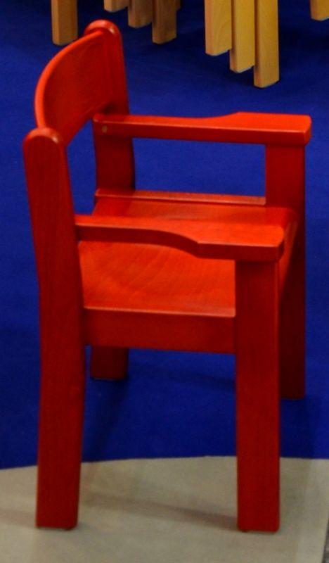Židle s područkou TIM II - celomořená