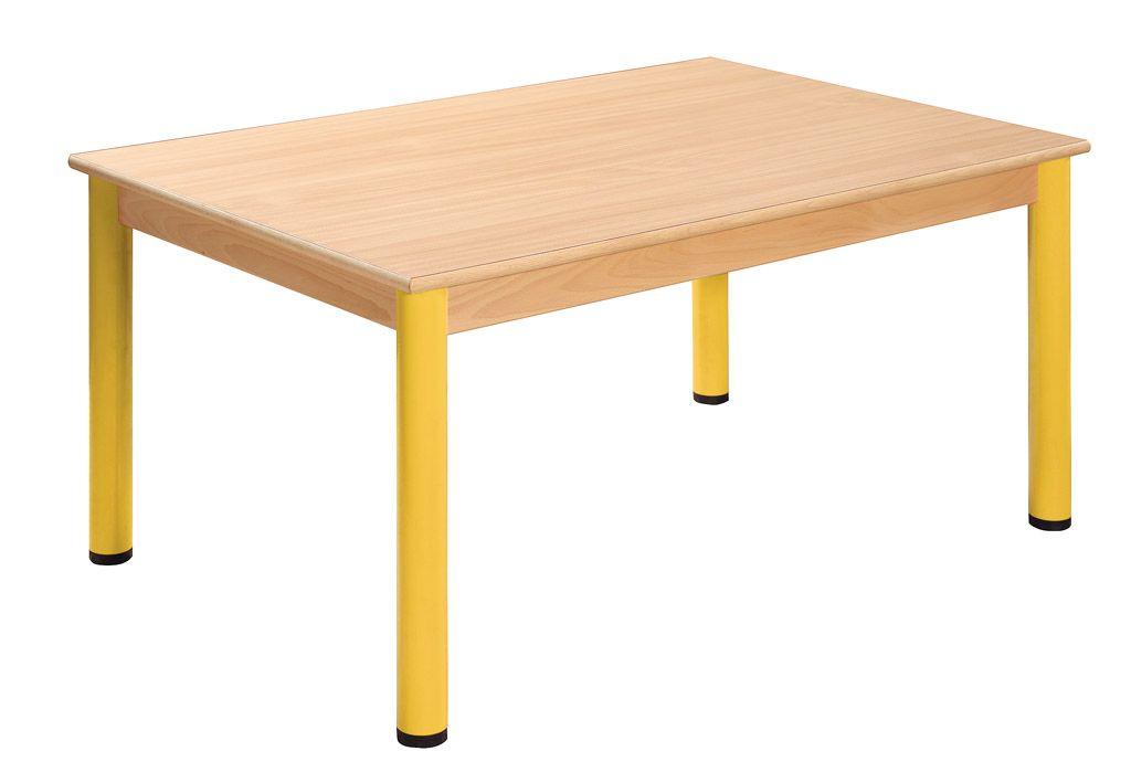 Stůl 180 x 60 cm / kovové nohy s rektifikační patkou