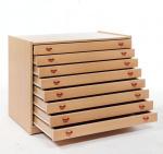 Skříňka zásuvková s 8 zásuvkami