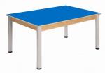 Stůl 120 x 80 cm / výškově stavitelné nohy 52 - 70 cm