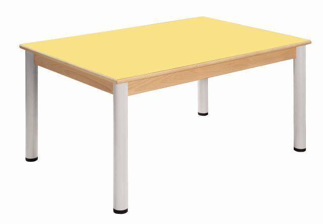 Stůl 80 x 60 cm / výškově stavitelné nohy 36 - 52 cm