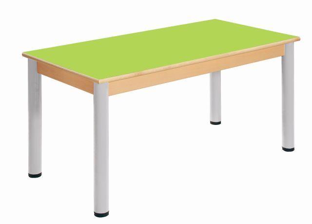 Stůl 120 x 60 cm/ výškově stavitelné nohy 40 - 58 cm