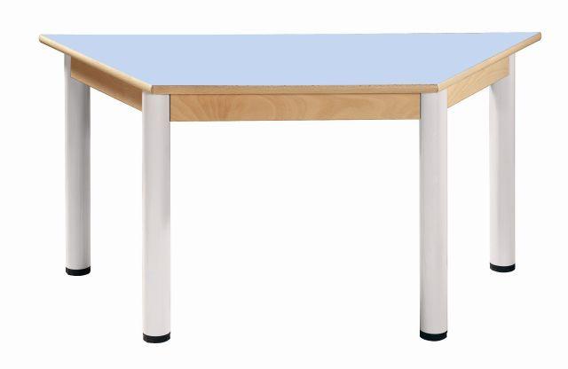 Stůl umakart trapézový 120 x 60 cm / výška 36 - 52 cm