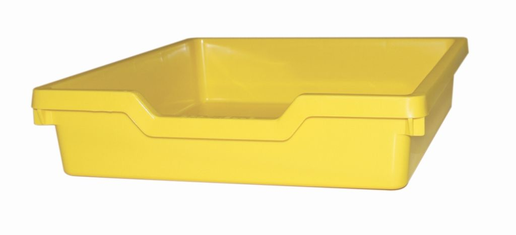 Plastová zásuvka SINGLE - pastelově žlutá Gratnells