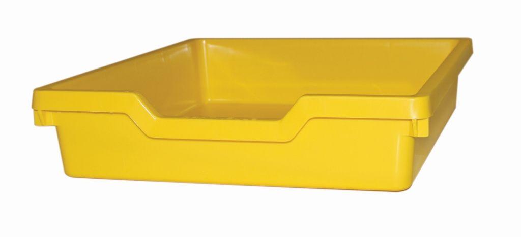 Plastová zásuvka N1 SINGLE- žlutá Gratnells
