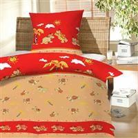 Povlečení bavlna - Želvy červené 130x90/60x45