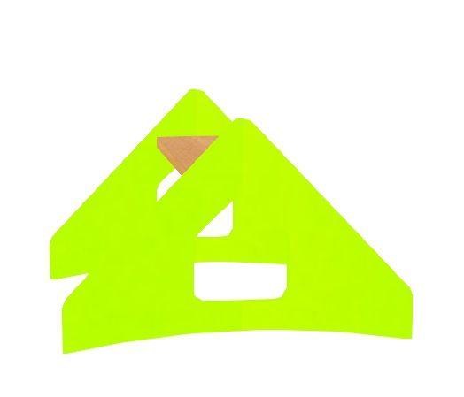 Stříška ozdobná MIKI trojúhelník
