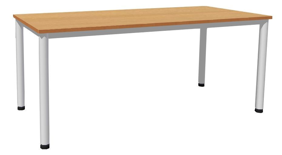 Stůl 180 x 80 cm / kovové podnož, lamino