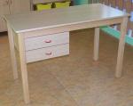 Stůl pro učitele, 2 zásuvky na levé straně