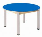 Stůl umakart kruh průměr 100 cm/ výška 36 - 52 cm