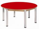 Stůl umakart kruh průměr 120 cm / výška 52 - 70 cm