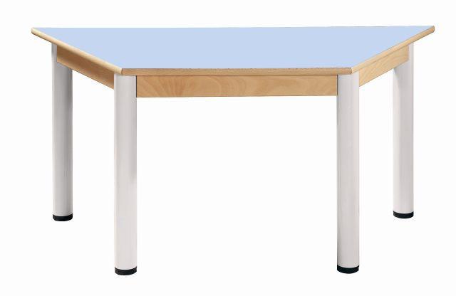 Stůl umakart trapézový 120 x 60 cm / výška 52 - 70 cm
