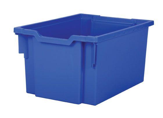 Plastová zásuvka EXTRA DEEP - modrá Gratnells